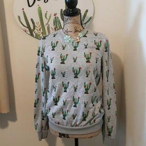 Cactus sweatshirt